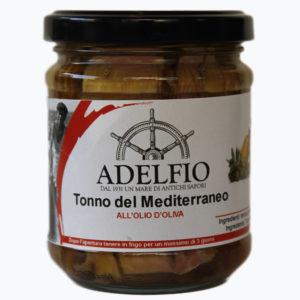 Tonno del Mediterraneo in olio d'oliva - 200 g