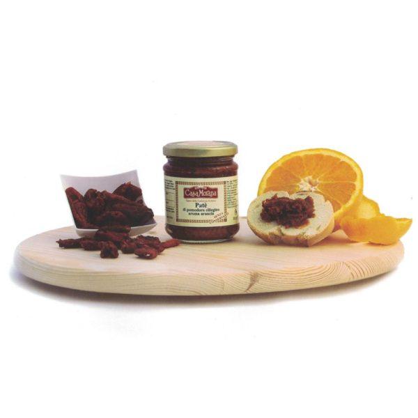 Patè di pomodoro Ciliegino all'Arancia - 200g