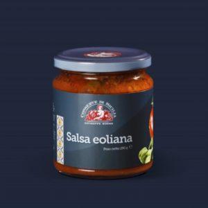 Salsa Eoliana con Pomodori e Capperi - 290g