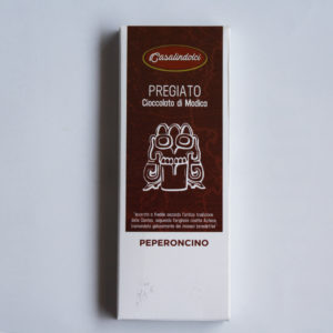 Cioccolato al PEPERONCINO – 50g