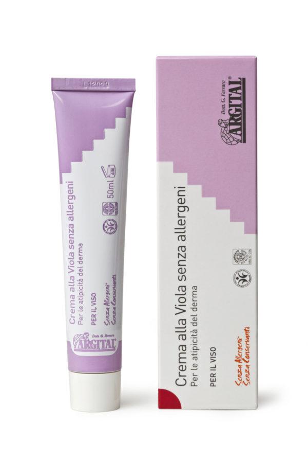 Crema alla Viola senza allergeni - 50ml