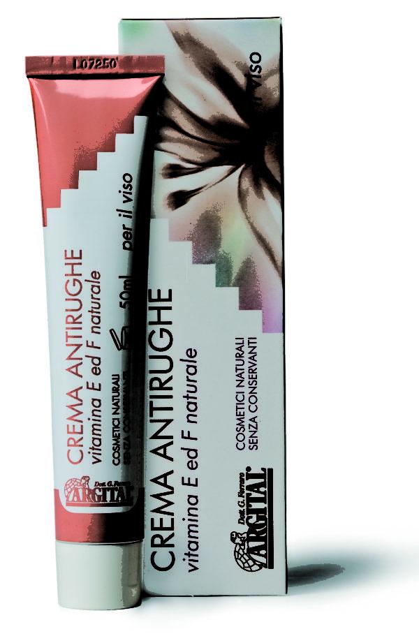 Crema Antirughe con vitamina E ed F - 50ml